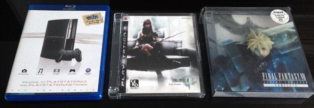 PS3 demos