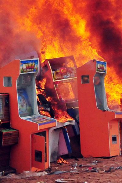 arcade burns