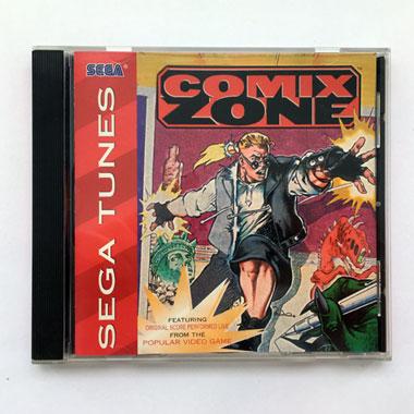 Sega Tunes Comix Zone